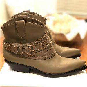 Zimmermann Cowboy Boot Sage - NEW - 10.5